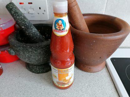 Healthy Boy Sriracha sauce in the UK